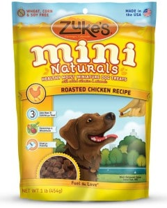 Zukes's Mini Naturals Healthy Moist Training Treats